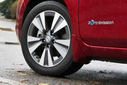 2015 Nissan LEAF wheel