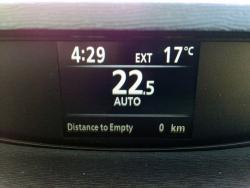 2015 Toyota Venza AWD Limited HVAC display