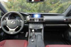 2015 Lexus IS 350 AWD F Sport dashboard