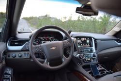 2015 Chevrolet Suburban LTZ 4WD dashboard