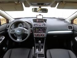 2015 Subaru Impreza dashboard