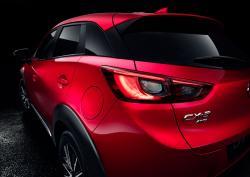 2016 Mazda CX-3 taillight