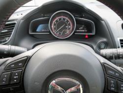 2015 Mazda3 Sport GT 6MT gauges