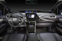 2016 Toyota Mirai dashboard