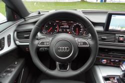 2015 Audi A7 TDI Technik steering wheel