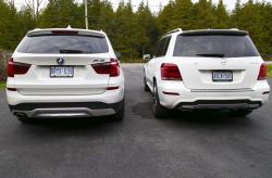 2015 BMW X3 xDrive28d vs Mercedes-Benz GLK 250 Bluetec