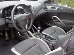 2015 Hyundai Veloster Turbo dashboard