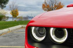 2015 Dodge Challenger Hellcat SRT headlight