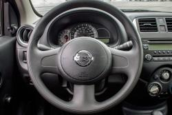 2015 Nissan Micra S steering wheel