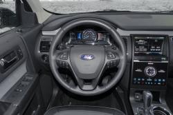 2015 Ford Flex AWD Limited steering wheel
