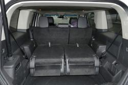 2015 Ford Flex AWD Limited third-row seats folded