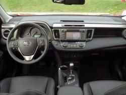 2015 Toyota RAV4 AWD Limited dashboard