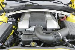 2015 Chevrolet Camaro SS engine bay