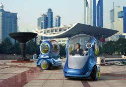 GM Unveils EN-V Concept in Shanghai