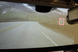 GM Windshield Head-Up Display System
