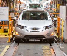 First Pre-Production Chevy Volt Rolls Off The Assembly Line