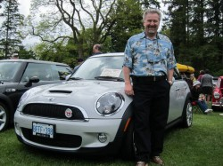 Paul Williams with 2010 Mini Camden