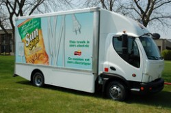FRITO LAY CANADA - Electric Truck