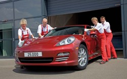 Porsche builds 25,000th Panamera general news