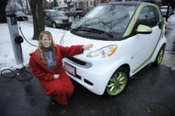 smart USA first electric drive customer delivery