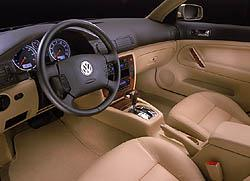 2001.5 new Passat Interior