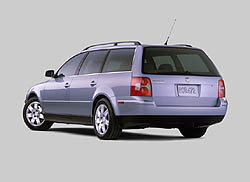 2001.5 new Passat Wagon GLX V6 4Motion