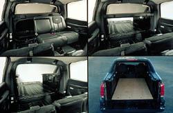 2002 Chevrolet Avalanche interior photos