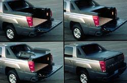 2002 Chevrolet Avalanche box configurations