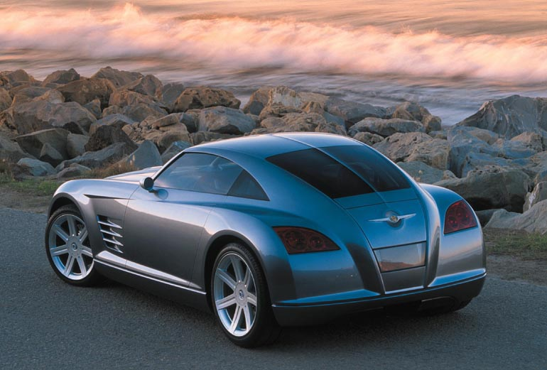 Detroit Auto Show Chrysler Crossfire Blends European