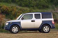 Preview: 2003 Honda Element  car previews