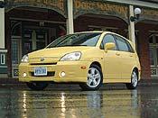2003 Suzuki Aerio, Photo:  Laurance Yap, www.Autos.ca