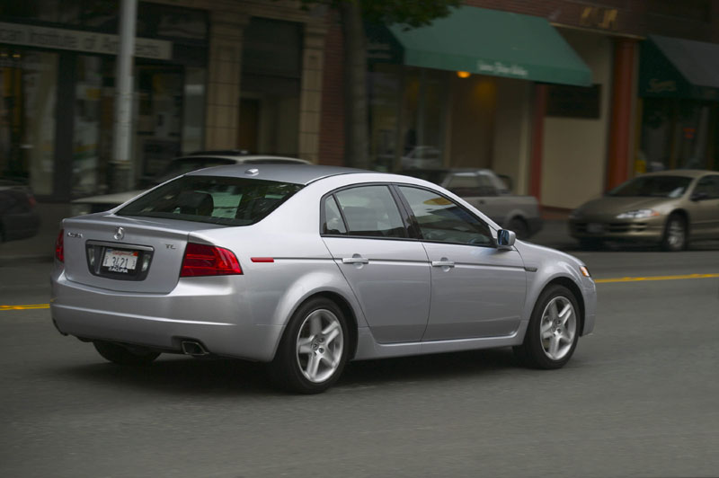 Acura Canada Announces Price For TL Autosca - Acura 2004 tl price