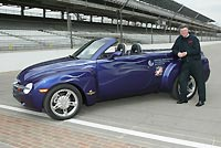 Chevy SSR Indy pace car