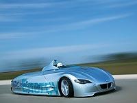 Hydrogen-powered BMW H2R prototype