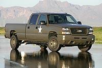 Silverado military fuel cell truck