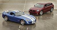 2006 Dodge Viper SRT10 and 2006 Dodge Magnum SRT8