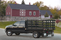 The 2007 Dodge Ram Chassis Cab is available in a number of body style and drivetrain configurations.