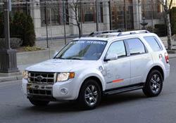 Ford Escape plug-in hybrid vehicle