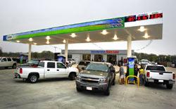 Classic Chevrolet/Hummer's E85 fuel station