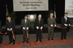 Kia opens the first part of its Georgia assembly complex