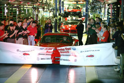 Chrysler LLC marked a milestone yesterday with the production of its 25,000th Dodge Viper