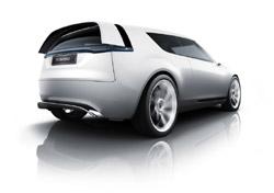 Saab 9-X BioPower Hybrid concept