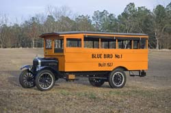 Blue Bird Number One, the first steel-bodied school bus