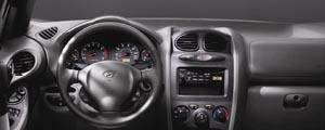 2001 Hyundai Santa Fe Dash