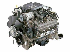 6.6 litre Duramax diesel
