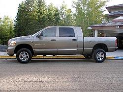 First Drive: 2006 Dodge Ram Mega Cab trucks first drives dodge