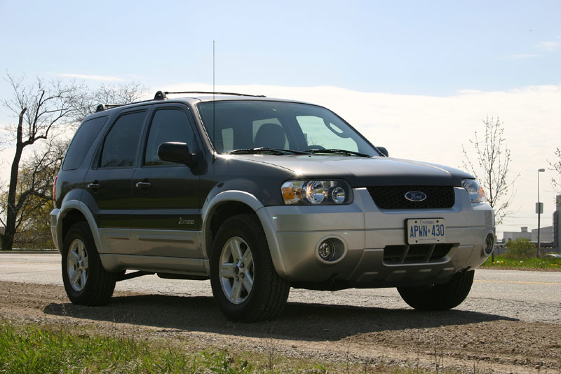 Test Drive: 2006 Ford Escape Hybrid ford
