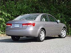 2006 Hyundai Sonata GL 4 Cylinder