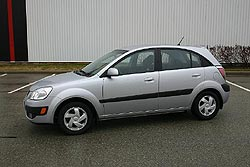 Test Drive: 2006 Kia Rio5 car test drives kia