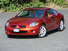 test drive 2006 mitsubishi eclipse gt. Black Bedroom Furniture Sets. Home Design Ideas